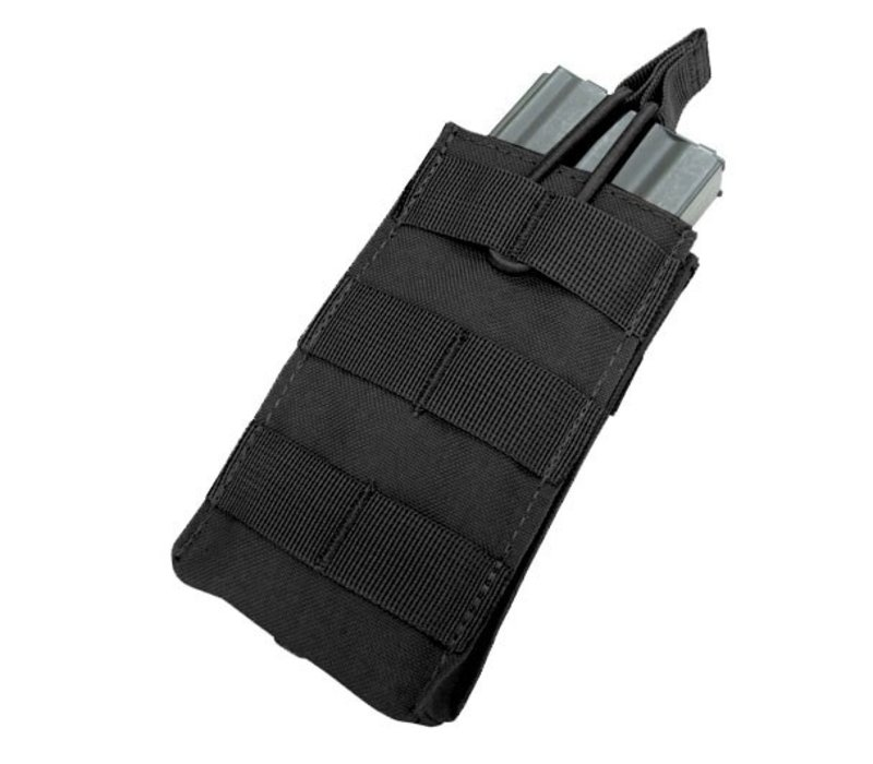 MA18 Single Open Top M4/M16 Mag Pouch - Black