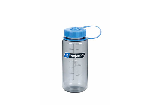 Nalgene Wide-Mouth Loop Top Bottle 500ml - Slate