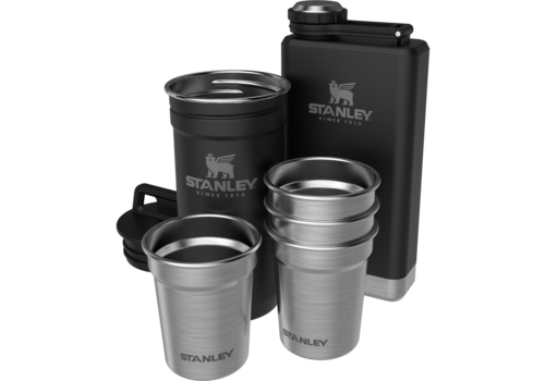 Stanley Pre-Party Shotglass + Flask - Matte Black
