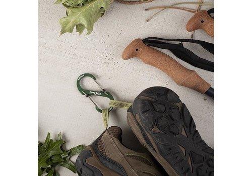 Nite Ize S-Biner #2 Slidelock Aluminium Gray