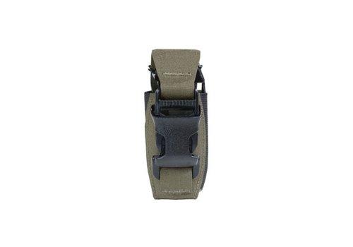 Warrior Laser Cut Single 40mm Flashbang Pouch - Ranger Green