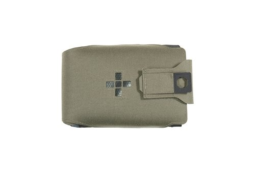 Warrior Laser Cut Large Horizontal Individual First Aid Kit Pouch - Ranger Green