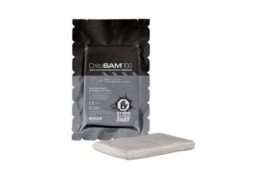 SAM Medical Products Chito-Sam Z-Fold 6""