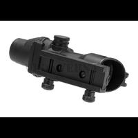 4x32c Combat Scope Fiber - Zwart