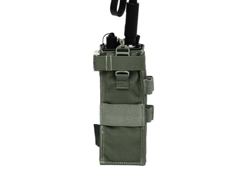 Warrior Front Opening MBITR Radio Pouch Gen2 - Olive Drab