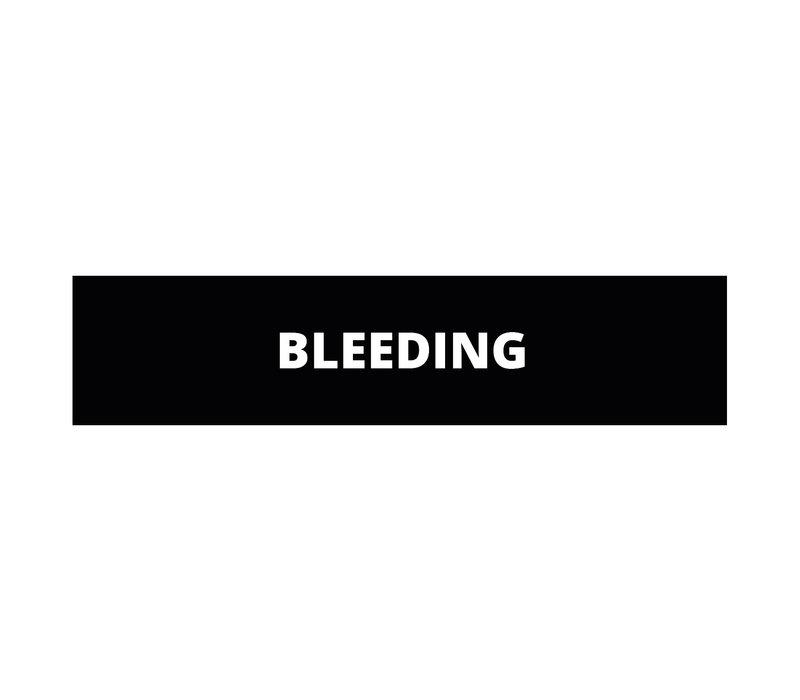 Bleeding patch