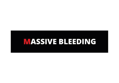 Dutch Tactical Gear Massive Bleeding (MARCH) patch