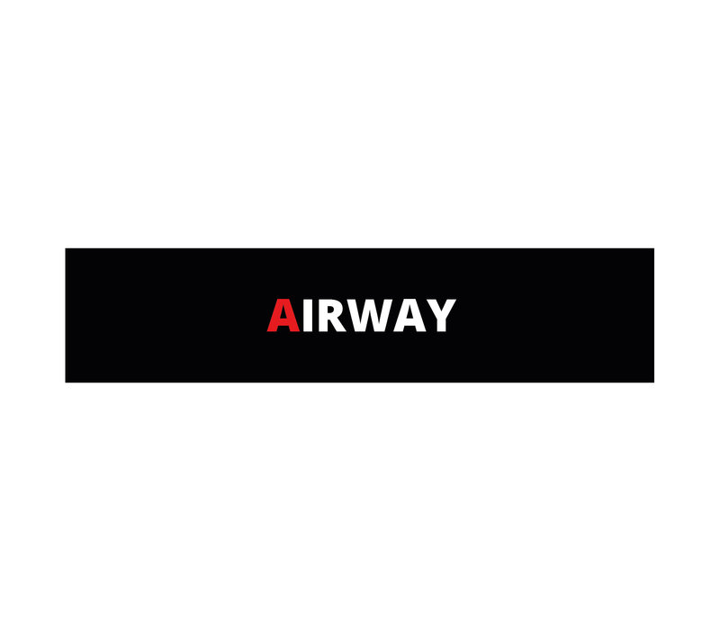 Airway (MARCH) patch