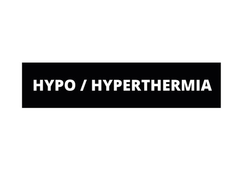 Dutch Tactical Gear Hypo / Hyperthermia patch