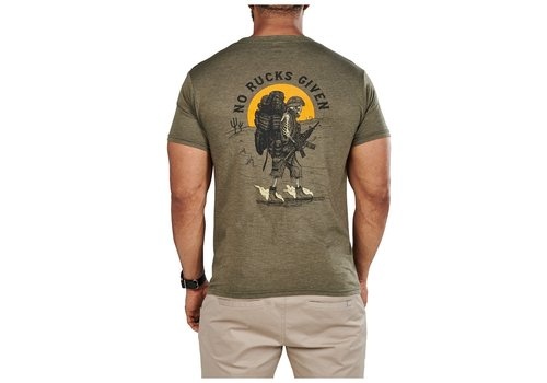 5.11 Tactical No Rucks Given Tee - Military Green Heather
