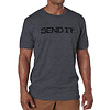 5.11 Tactical Send It Tee S/S - Charcaol