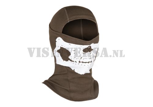 Invader Gear MPS Death Head Balaclava - Ranger Green
