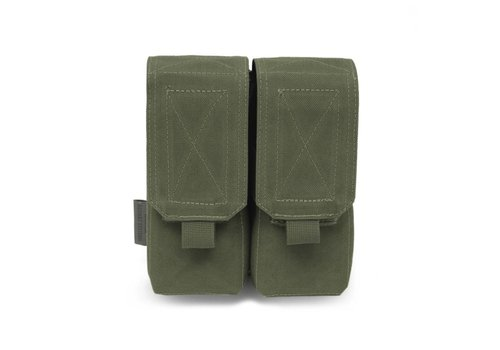Warrior Elite OPS Double 5.56 M4 Mag Pouch - Olive Drab