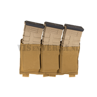 Ten-Speed Triple M4 Mag Pouch - Coyote