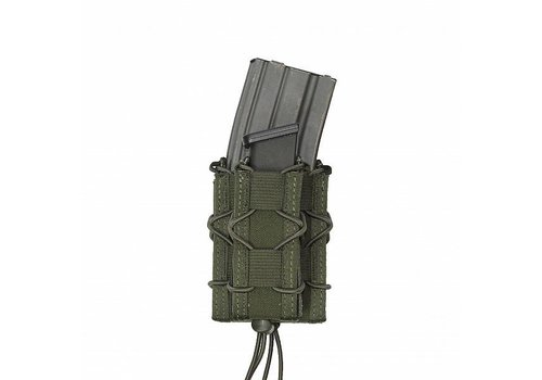 Warrior Single Quick Mag with Single Pistol Pouch -Olive Drab