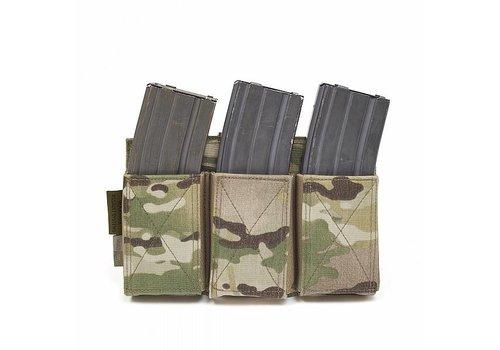 Warrior Elastic Triple Mag Pouch - MultiCam