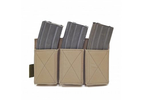 Warrior Elastisches Dreifachmagazin Mag Pouch - Coyote Tan