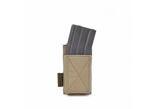 Warrior Elastic Single Mag Pouch - Coyote Tan