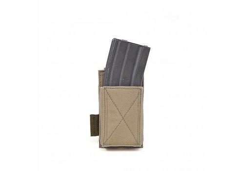 Warrior Single Elastic Mag Pouch - Coyote Tan