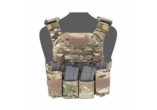 Warrior Recon Plate Carrier w Pathfinder Chest Rig - MutiCam