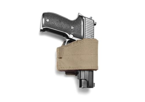 Warrior Universal Pistol Holster - left handed- Coyote Tan