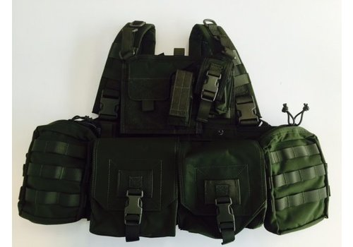 Warrior 901 Minimi Chest Rig - Olive Drab