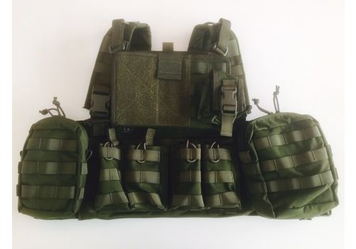Warrior 901 Commander Chest Rig - Olive drab (unique in NLTactical)