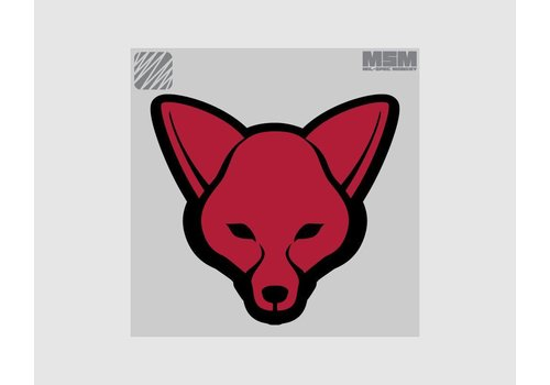 MilSpec Monkey Fox-Kopf-Patch - Desert