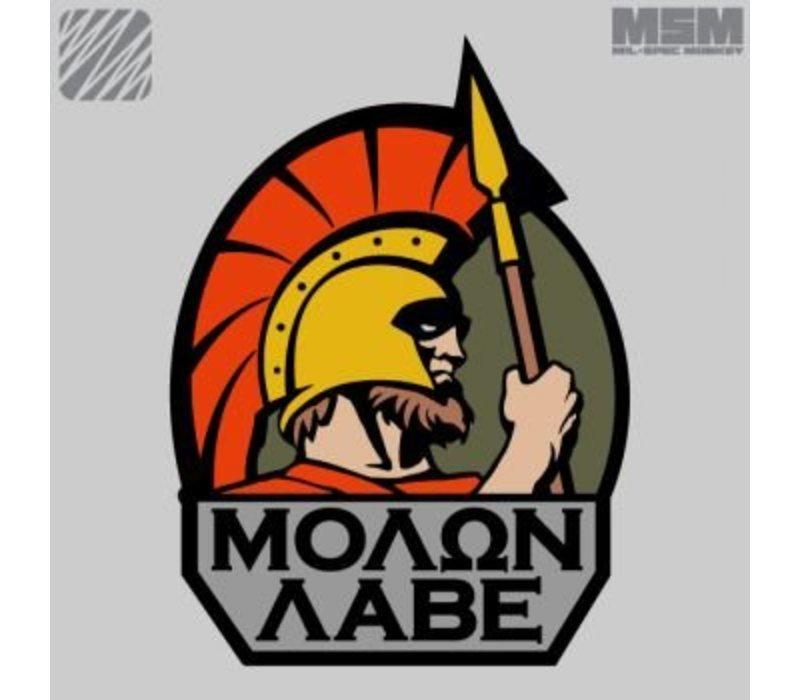 Molon Labe patch - MultiCam