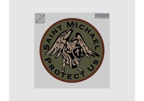 MilSpec Monkey Saint Michael patch - Forest