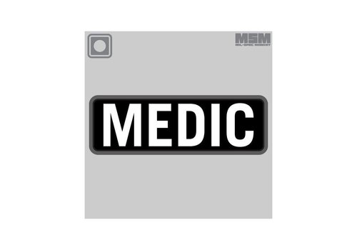 MilSpec Monkey Medic 15 X 5 cm PVC Patch - SWAT