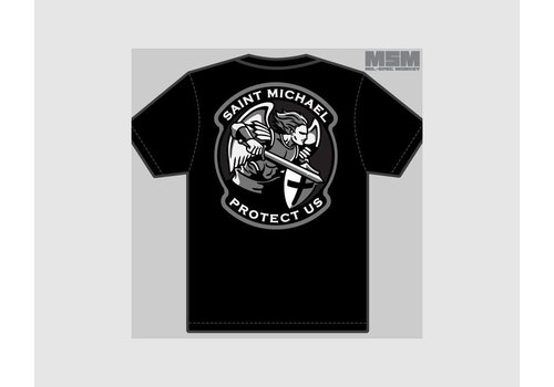 MilSpec Monkey Saint M. Modern T-shirt - Black