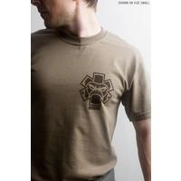 Tac-Med Spartan T-shirt - Dusty Brown