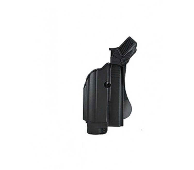 Z1600 Tactical Light Paddle Holster Glock 17 - Black