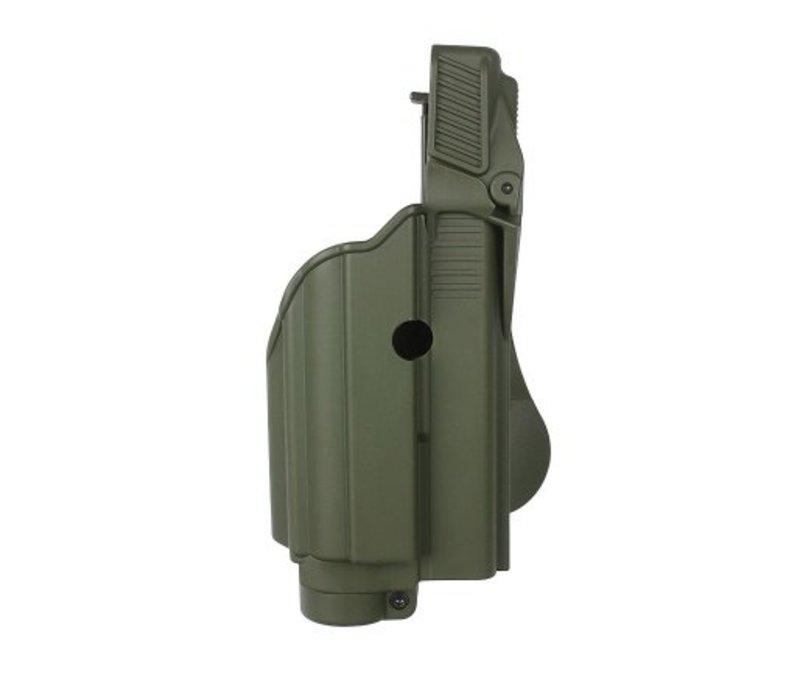 Z1600 Tactical Light Paddle Holster Glock 17 - Olive Drab