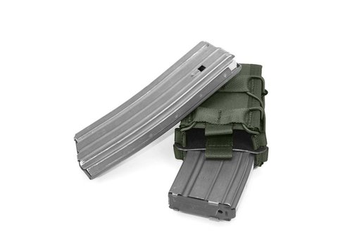 Warrior Double Quick Mag - Olive drab