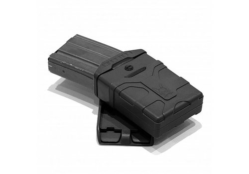 Warrior Polymer 5.56mm Mag - Black