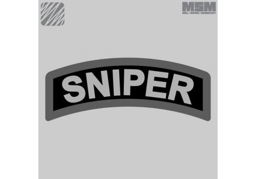 MilSpec Monkey Sniper Tab Patch