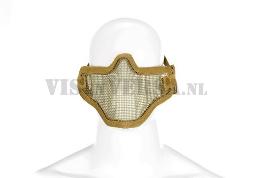 Invader Gear Steel Half Face Mask - Tan