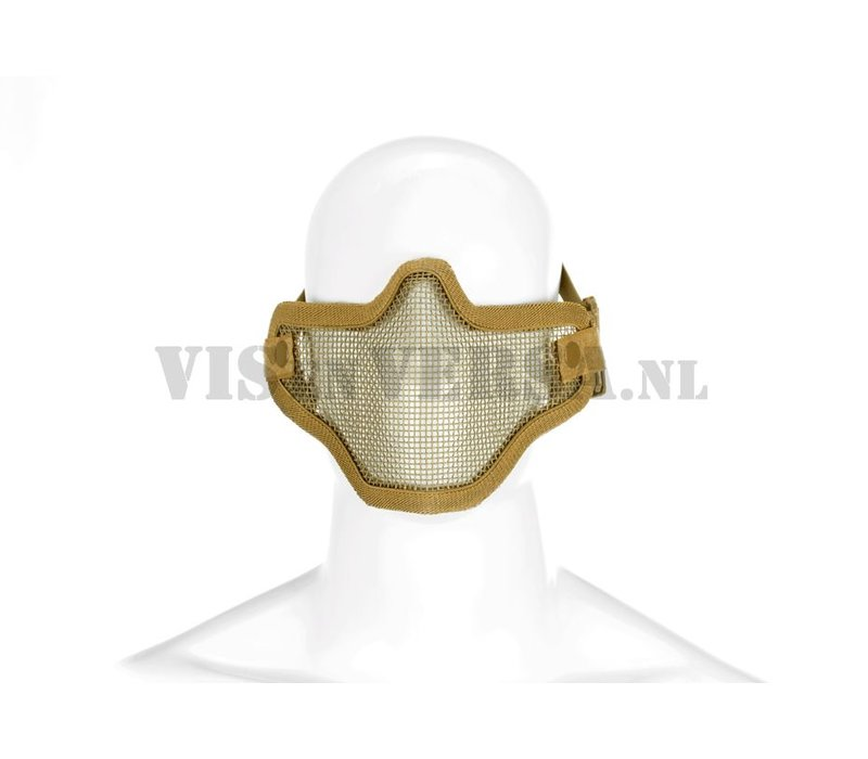 Steel Half Face Mask - Tan