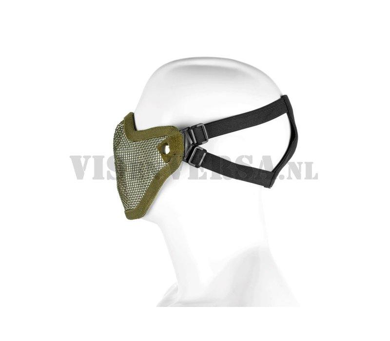 Steel Half Face Mask - Olive Drab