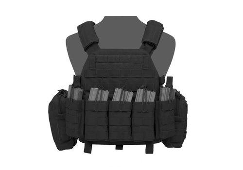 Warrior DCS M4 - black ( wordt geleverd met dichte pouches)