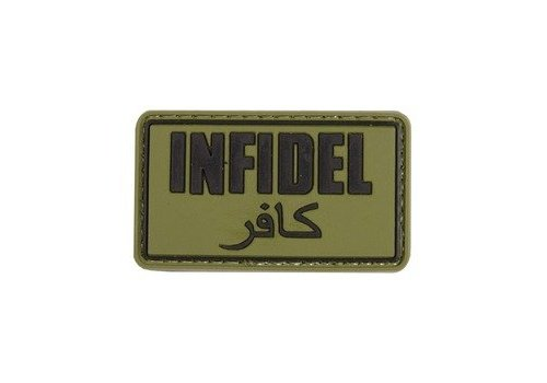 Infidel badge PVC - Olive Drab