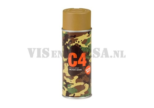 C4 Military Grade Color Spray RAL8000 (green-brown)