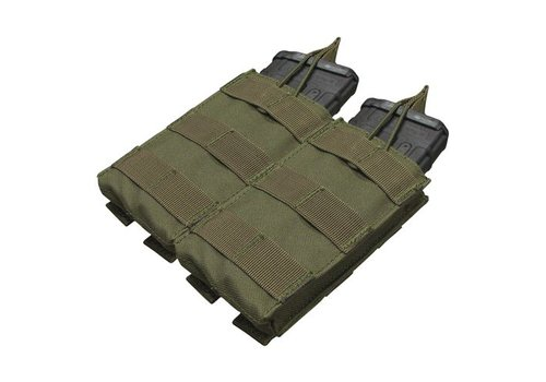 Condor MA19 Double Open -Top M4 Mag Pouch - Olive Drab