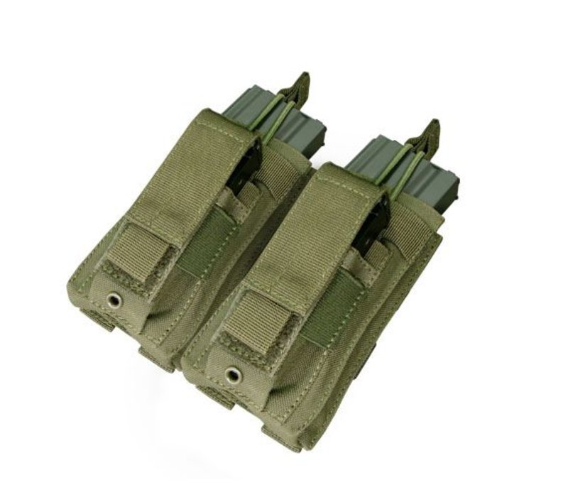 MA51 Double Kangaroo Mag Pouch - Olive Drab