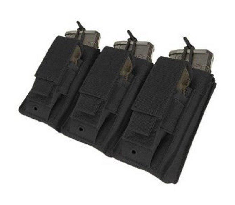 MA55 Triple Kangaroo Mag Pouch - Black