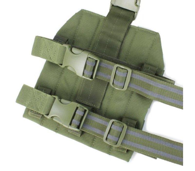 MA1 Drop Leg Platform - Zwart
