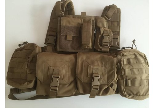 Warrior 901 Minimi Chest Rig - Coyote Tan (unique in NLTactical)
