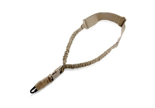 Warrior Elite OPS Single Point Bungee Sling H&K Hook - Coyote Tan